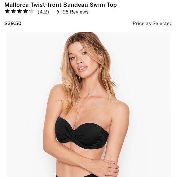 NWT Victoria's Secret Mallorca Twist-front Bandeau